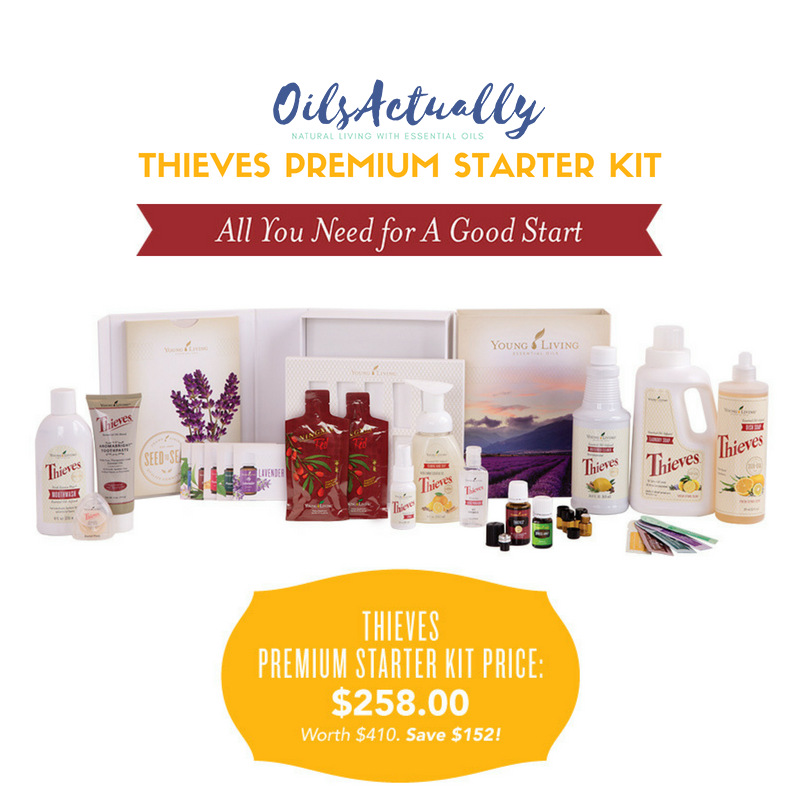 Young Living Thieves® Premium Starter Kit + FREE GIFTS