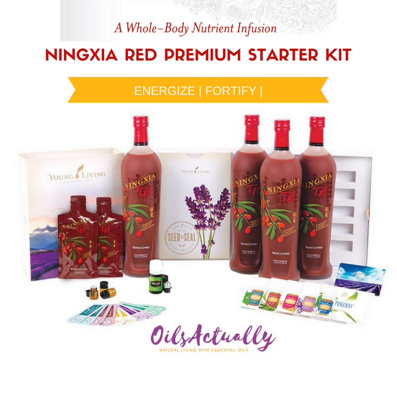 Young Living Ningxia Red® Premium Starter Kit + FREE GIFTS
