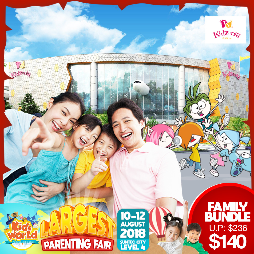KidZania Family Bundle