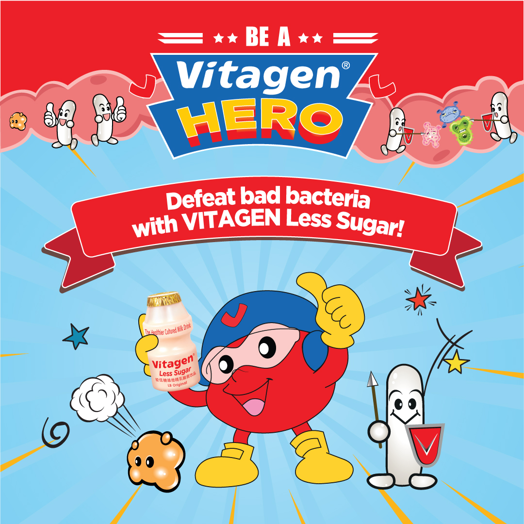 Be a VITAGEN Hero