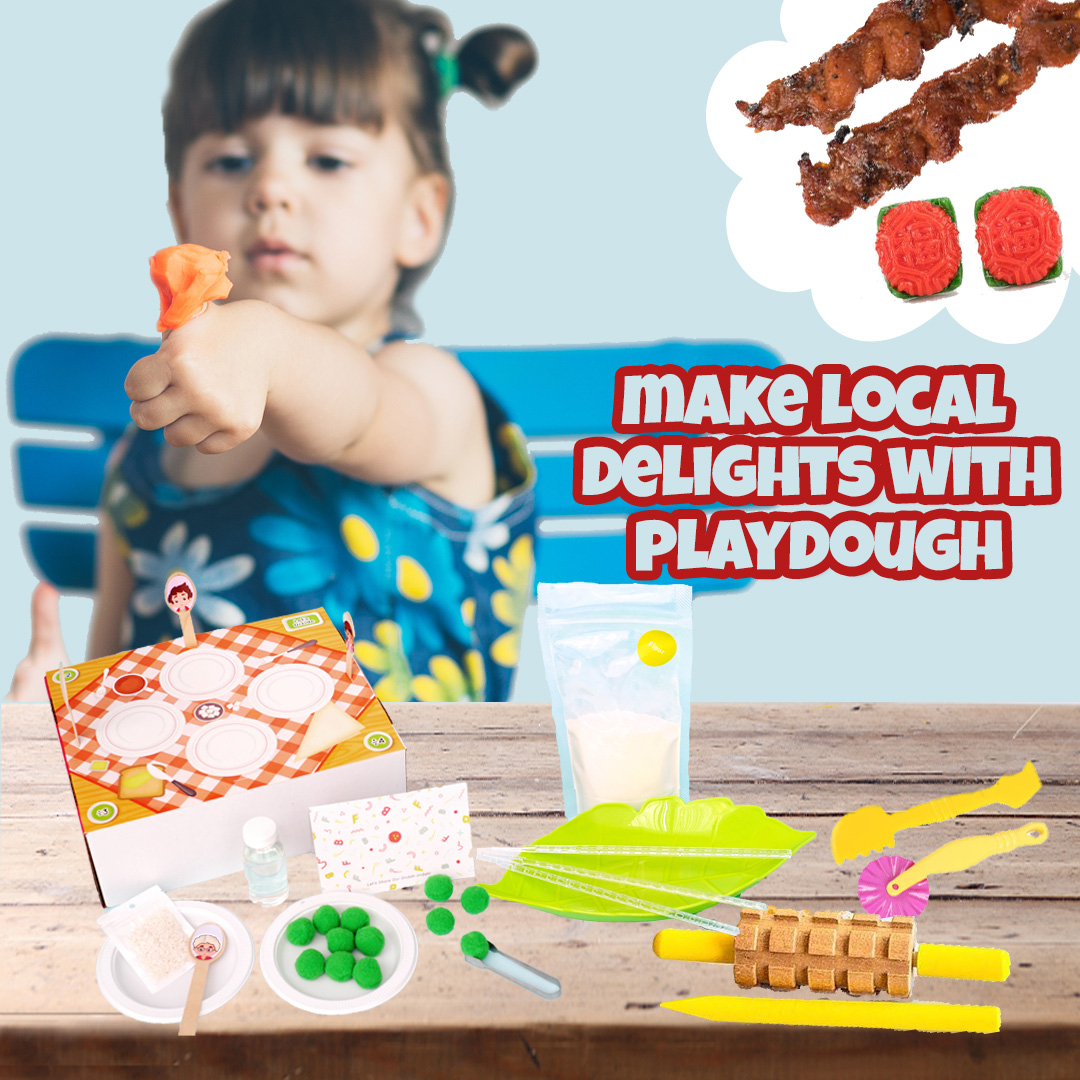 Making Local Delights with Playdough
